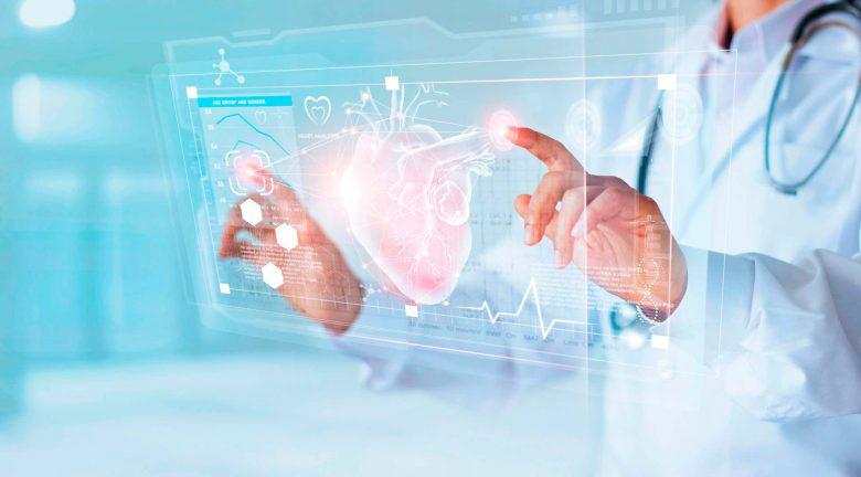Imagen de dispositivo cardíaco con monitorización remota del paciente